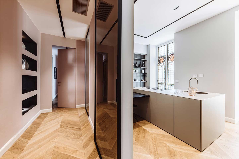 Italia and Partners progetto interior