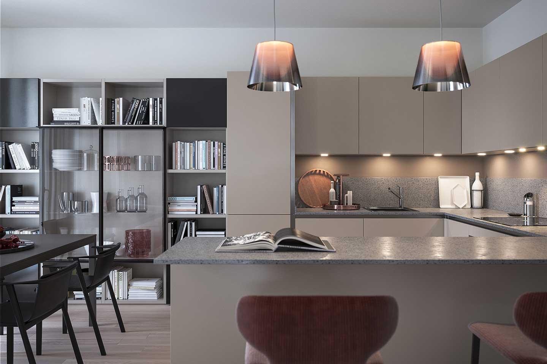 appartamento nel complesso residenziale Princype a Milano