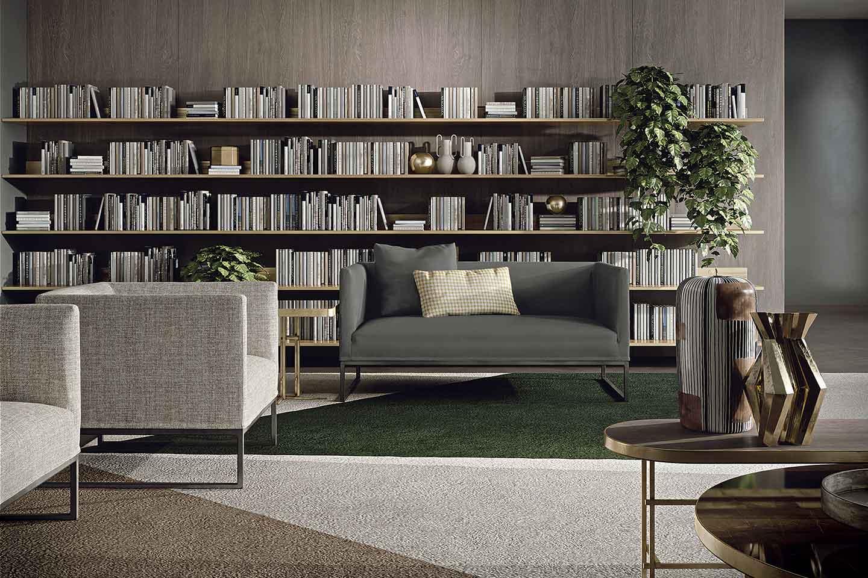 divano a due posti moderno