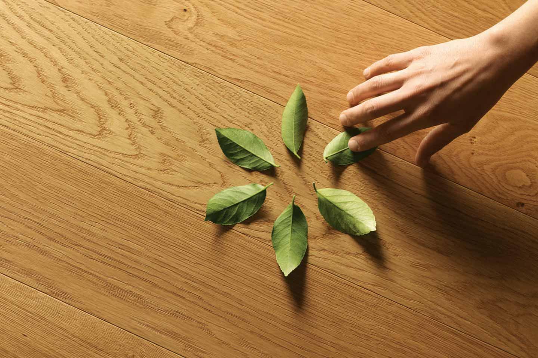 pavimento antibatterico in legno di Listone Giordano