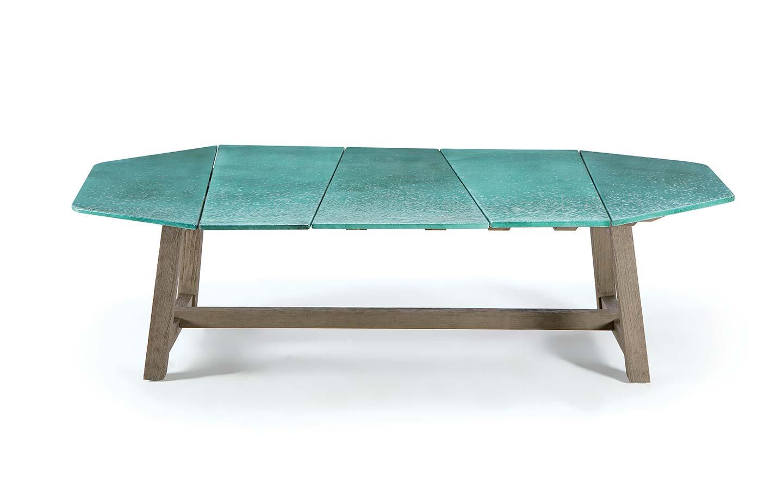 tavolo da giardino piano in pietra lavica