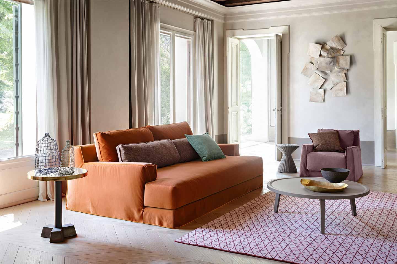 divano e poltrona Gervasoni