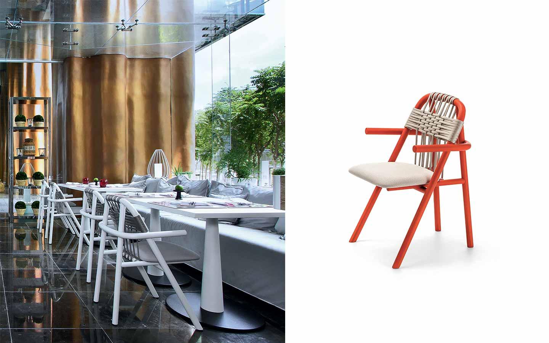 sedia moderna per ristoranti