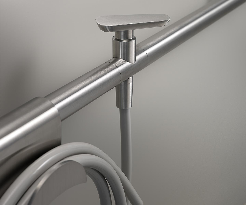 tubo idraulico a vista