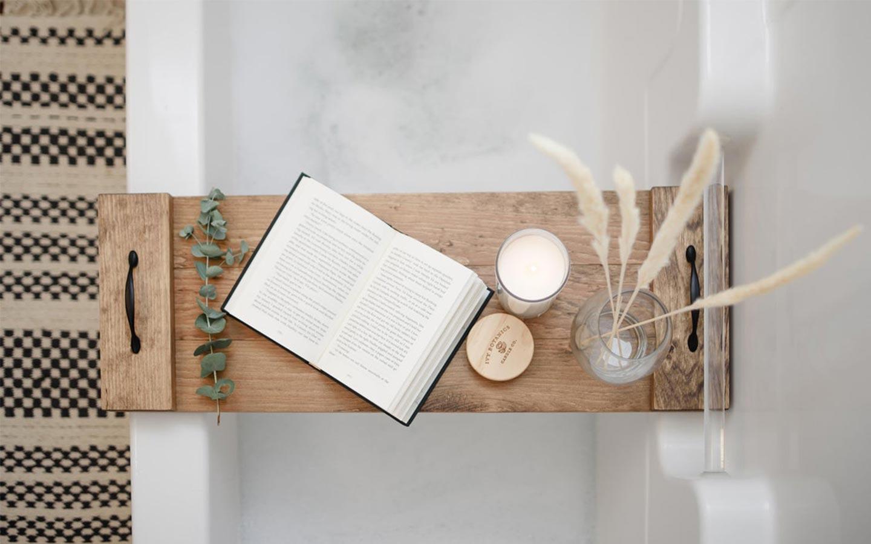 accessori bagno in legno
