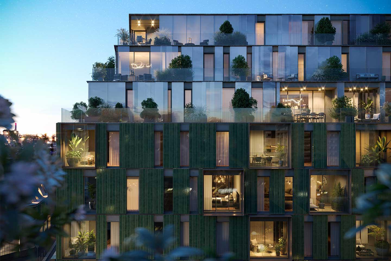 complesso residenziale di lusso a Milano