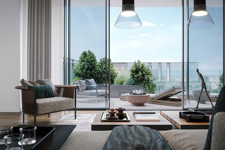 appartamento di lusso a Milano