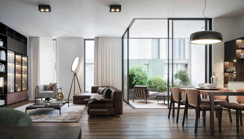 appartamento progetto GarofaloPaisiello