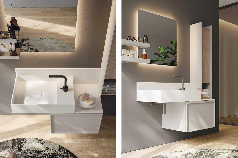 mobile bagno piccolo con lavabo