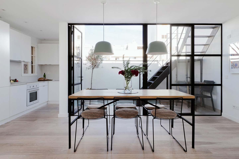 appartamento in stile scandinavo