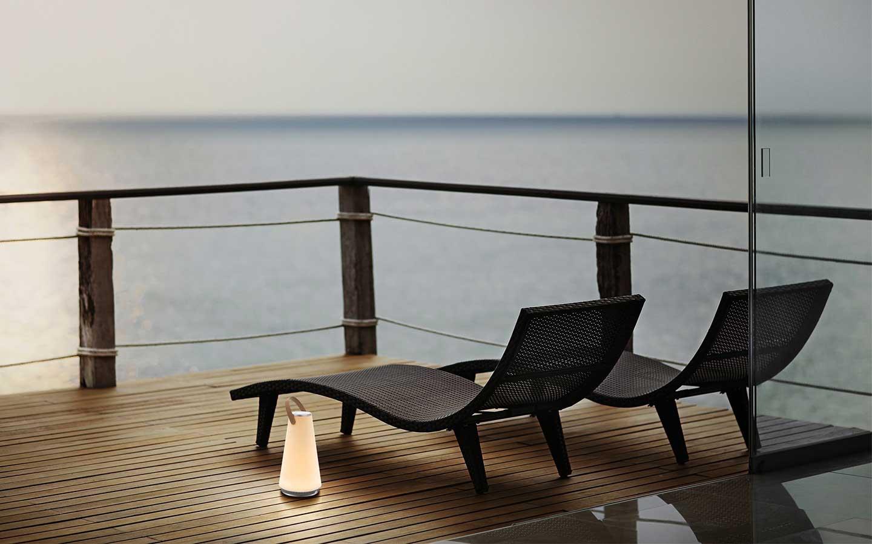 lampada senza fili da giardino