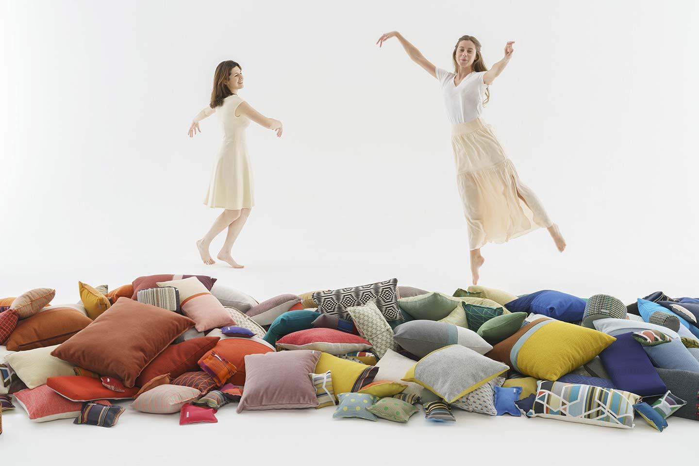 cuscini d'arredo colorati