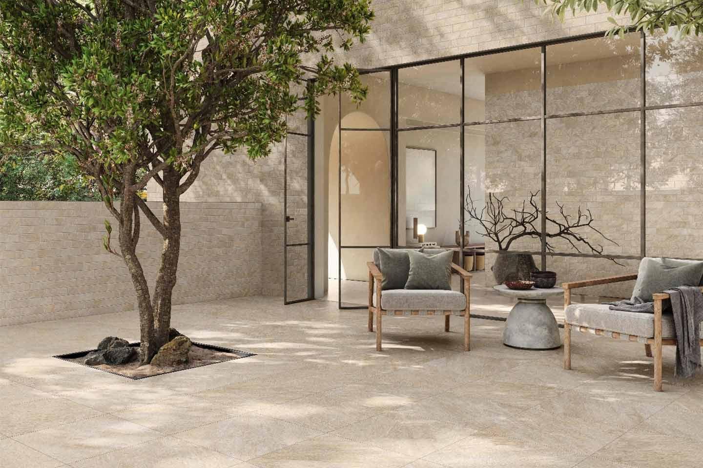 pavimento esterno lastre gres porcellanato
