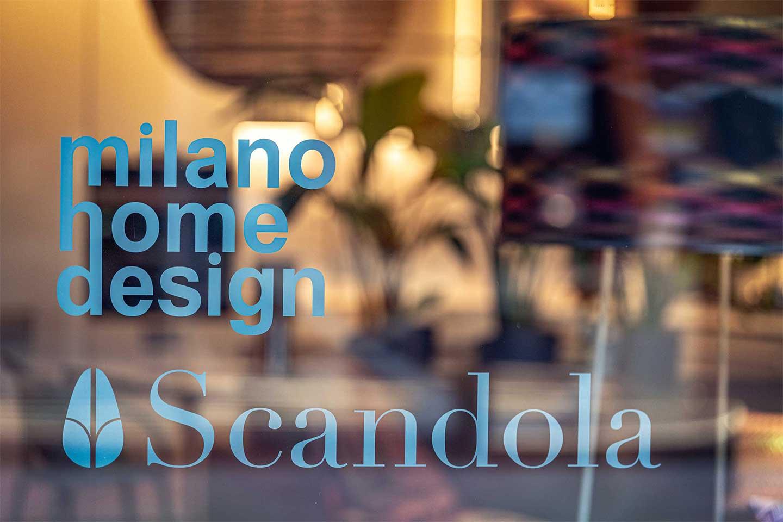 Flagship store Scandola a Milano