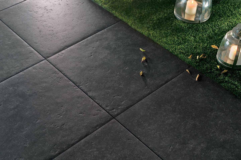 pavimento esterno gres effetto pietra ardesia