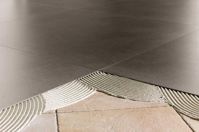 posa pavimento gres porcellanato sottile