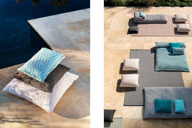 daybed e cuscini da esterno