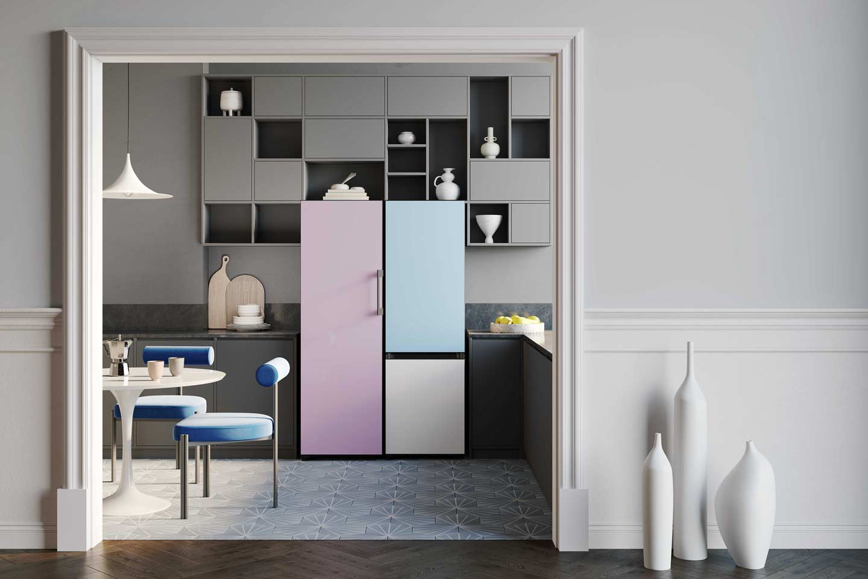 frigoriferi colorati Samsung Bespoke