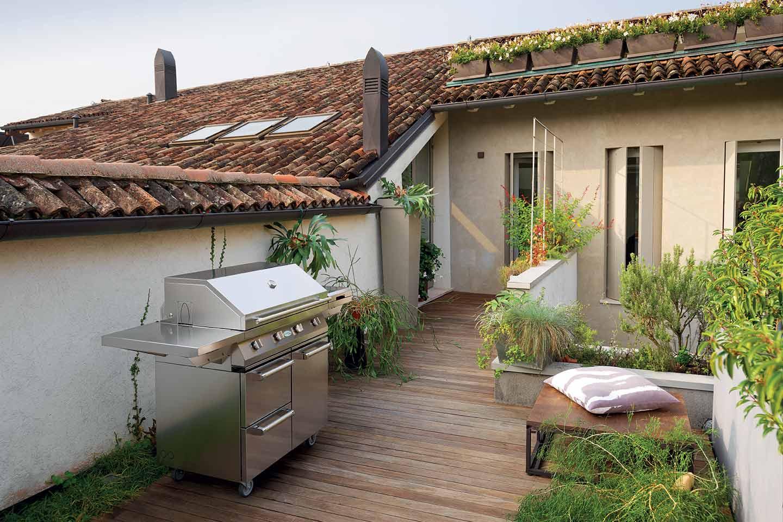barbecue a gas Alain di Palazzetti