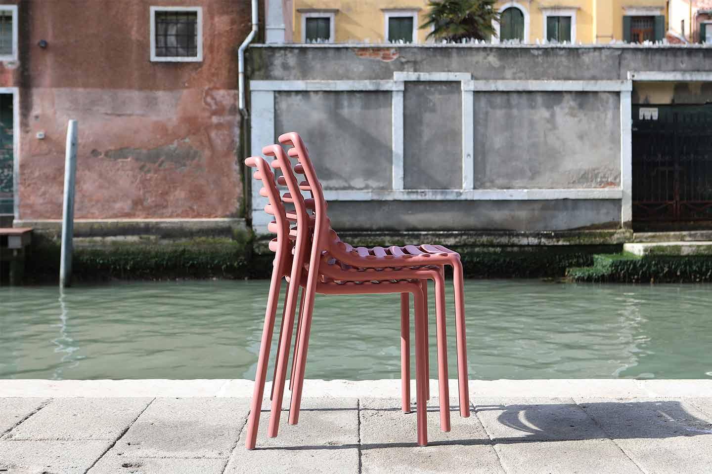 sedie da giardino impilabili