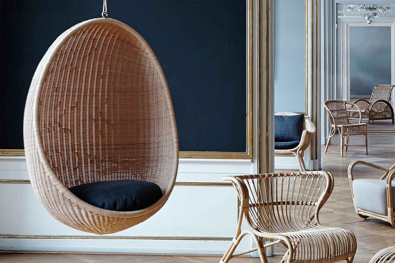 poltrona sospesa Egg Chair
