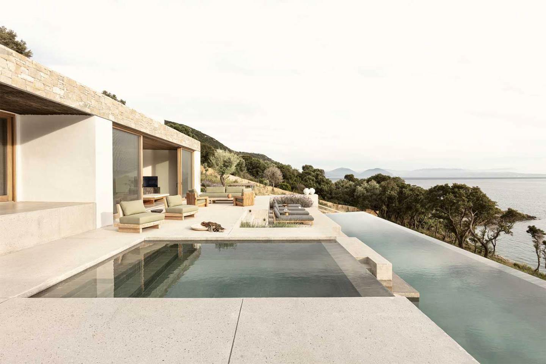 piscina Villa Apollon a Lefkada