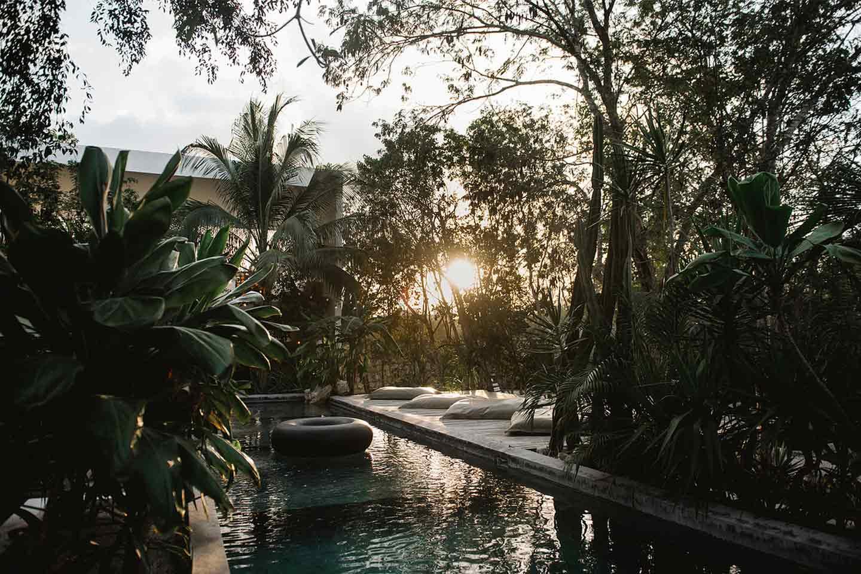 piscina 16 TULUM boutique hotel