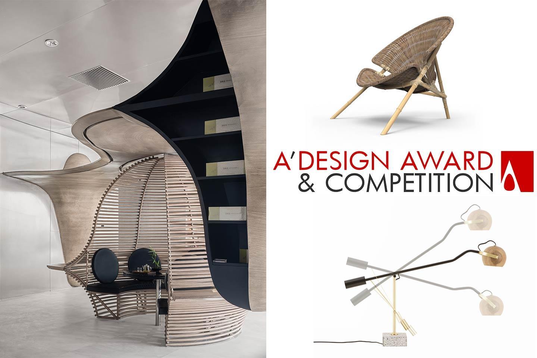 progetti vincitori del premio A'Design Award