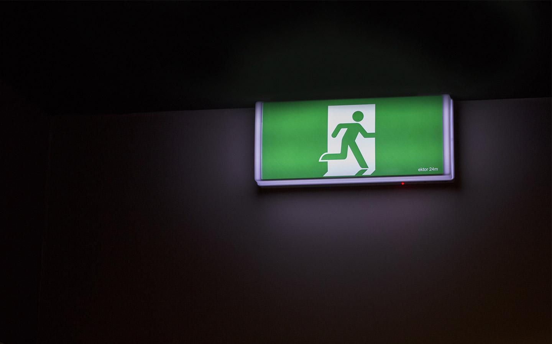 lampada d'emergeza