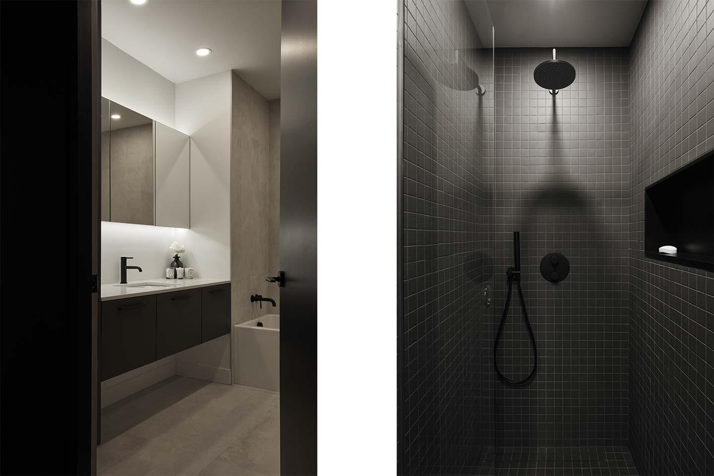 bagno progetto Renovation C+G firmato DESK architects