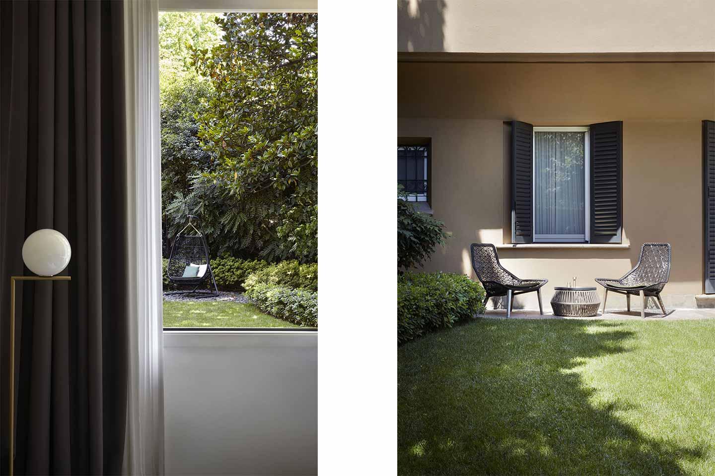 giardino progetto Tamborini di dainelli Studio