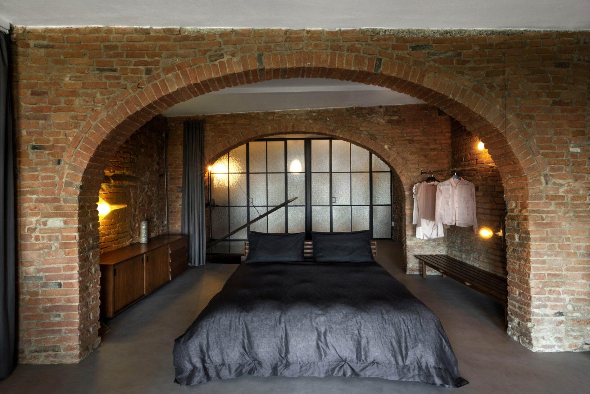 camera da letto loft Umamma