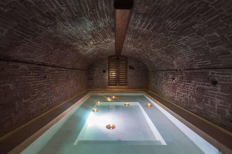 piscina interna loft Umamma