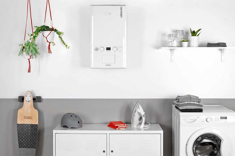 caldaia a condensazione parete lavanderia